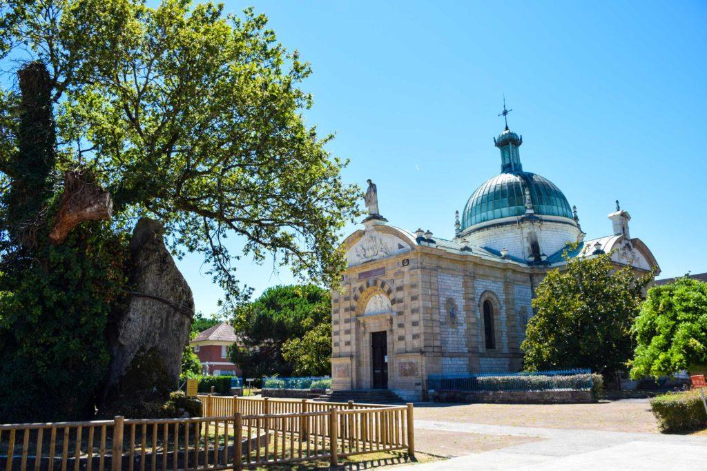 Chapelle à Saint-Vincent-de-Paul dans les Landes