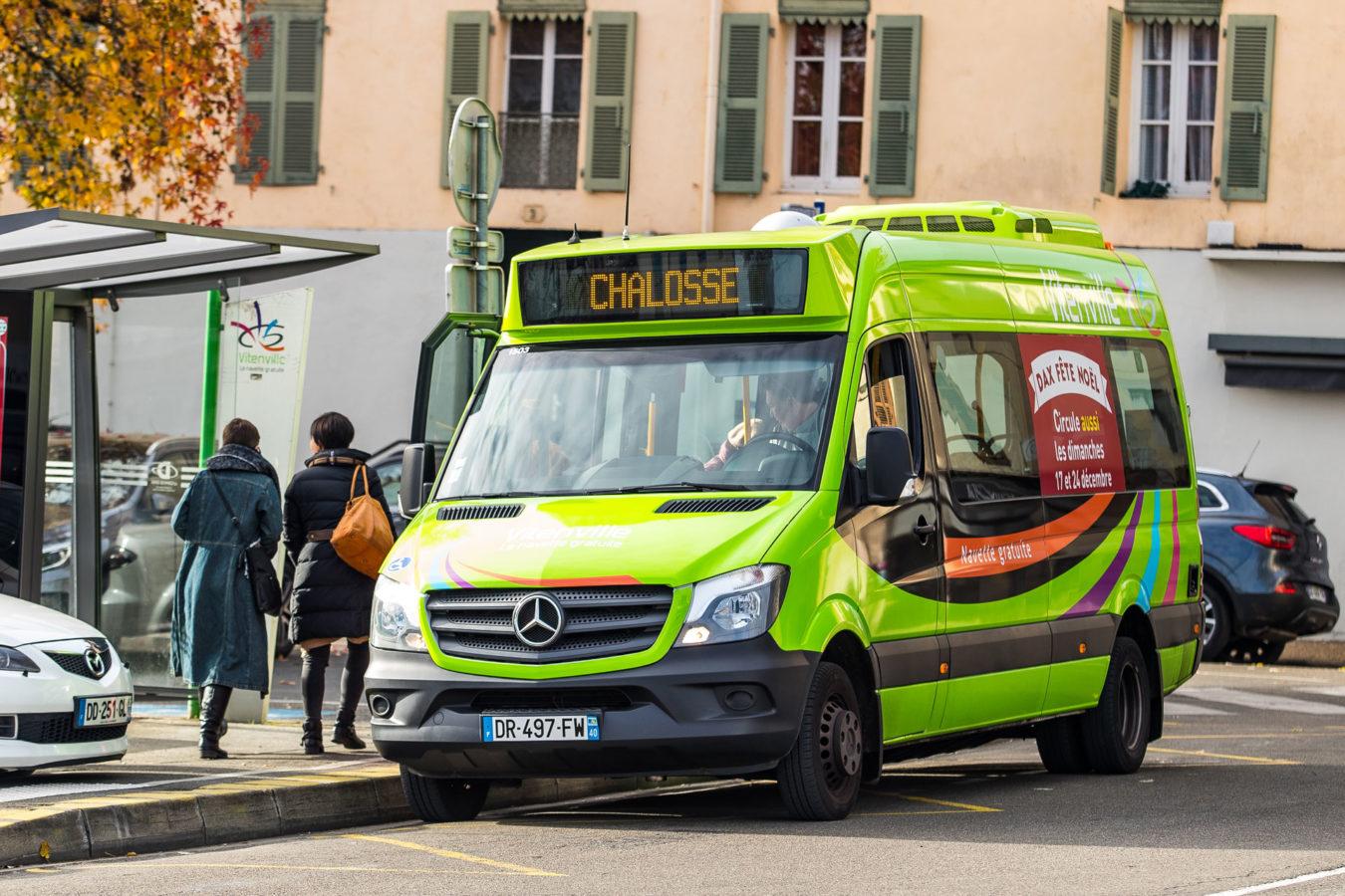 Bus à Dax dans les Landes