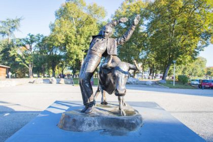 statue federale à Dax dans les Landes