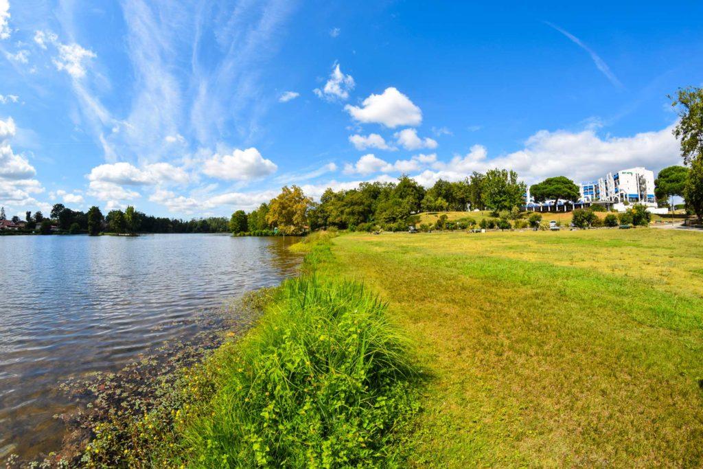 Lac de Christus à Saint-Paul-lès-Dax dans les Landes