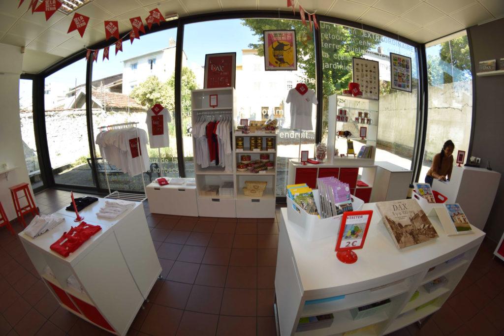 boutique office de tourisme dax