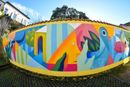 Street art à Dax dans les Landes
